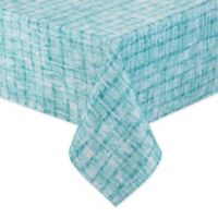 Destination Summer Indoor/Outdoor Essen 60-Inch x 102-Inch Oblong Tablecloth in Aqua