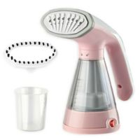 The True & Tidy Garment Steamer in Pink