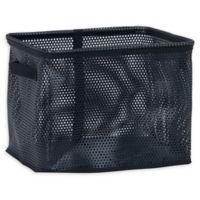 Household Essentials® Medium Mesh EVA Bin in Black