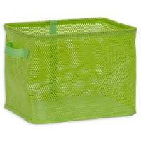 Household Essentials® Medium Mesh EVA Bin in Green