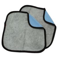 Hope's® Perfect Microfiber Glass Cleaning Cloths in Blue (Set of 2)