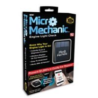 Micro Mechanic Engine Check Light Diagnostic Tool in Black