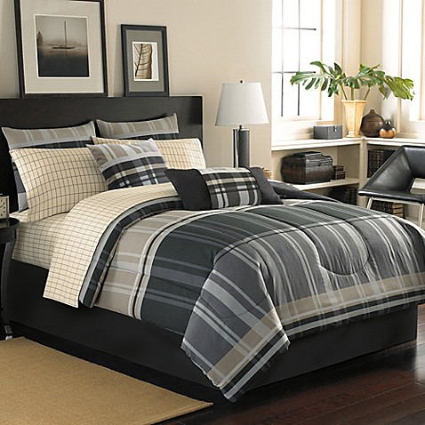 Cambridge Reversible Complete Comforter Set Bed Bath