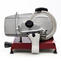 Berkel Red Line 250 Electric Food Slicer in Red