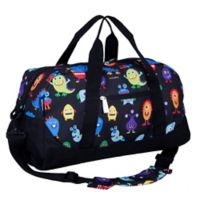 Wildkin Monsters Duffel Bag in Black