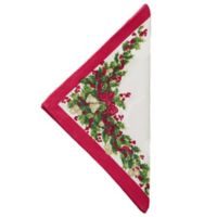 Garland and Bells Napkins (Set of 4)