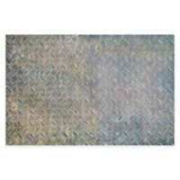 "FlorArt 36"" x 24"" Boiler Room Kitchen Mat in Grey"