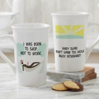Personalized I'm Retired Latte Mug