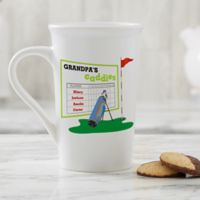 Personalized His Favorite Caddies Latte Mug 16 oz