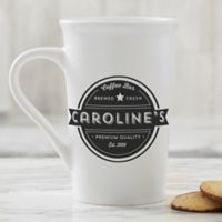 Personalized Coffee House Latte Mug 16 oz