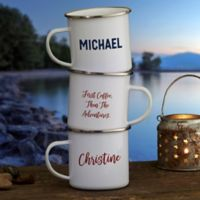 Personalized Write Your Own Camping Mug
