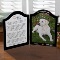 Personalized Pets In Heaven Photo Plaque