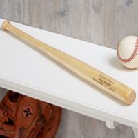 Personalized Ring Bearer Mini Baseball Bat