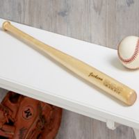 Personalized Baby Announcement Mini Baseball Bat