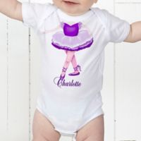 I Want To Be Personalized Baby Girl Bodysuit