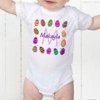 Colorful Eggs Personalized Baby Bodysuit 4de2edc4c80b