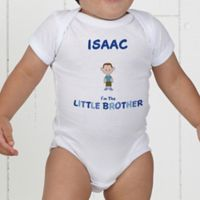 Brother Character Personalized Baby Bodysuit