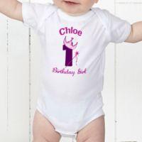 Birthday Princess Personalized Baby Bodysuit