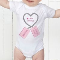New Recruit Personalized Baby Bodysuit