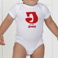 Alphabet Name Personalized Baby Bodysuit