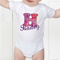 Her Name Personalized Baby Bodysuit