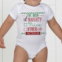 I Can Explain Personalized Christmas Baby Bodysuit