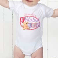 Teddy Bear Love Personalized Baby Bodysuit