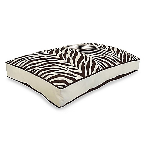 Park B. Smith® Watershed™ Zebra Zebra Pet Bed in Natural and Coffee Bean
