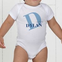 Alphabet Fun Personalized Baby Bodysuit