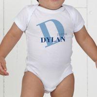 Alphabet Fun Personalized Baby Bodysuit