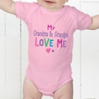 You Are Loved Personalized Baby Bodysuit
