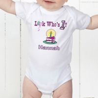 Birthday Kid Personalized Baby Bodysuit