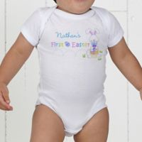 First Easter Infant Personalized Baby Bodysuit
