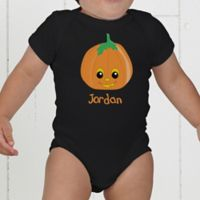 Pumpkin Pal Personalized Baby Bodysuit