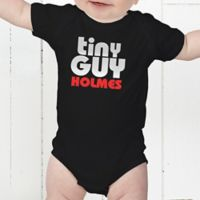 Little Guy Personalized Baby Bodysuit