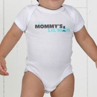 Mommy's Lil' Man Personalized Baby Bodysuit