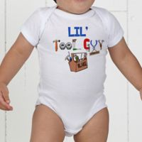 Lil Tool Guy Personalized Baby Bodysuit