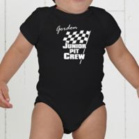 Pit Crew Personalized Baby Bodysuit