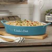 Personalized Classic Oval Baking Dish
