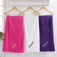 Spa Comfort Ladies Embroidered Name Towel Wrap