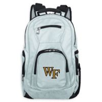 Wake Forest University Laptop Backpack in Grey