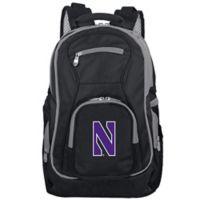 Northwestern University Laptop Backpack in Black
