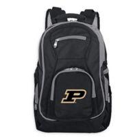 Purdue University Laptop Backpack in Black