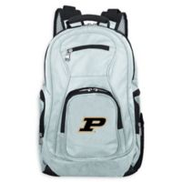 Purdue University Laptop Backpack in Grey