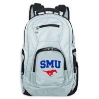 Southern Methodist University Laptop Backpack in Grey