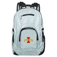 Iowa State University Laptop Backpack in Grey