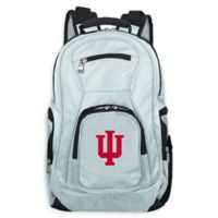 Indiana University Laptop Backpack in Grey