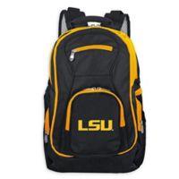 Louisiana State University Laptop Backpack in Black