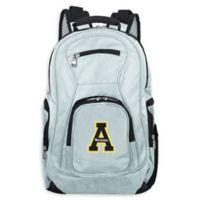 Appalachian State University Laptop Backpack in Grey