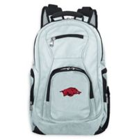 University of Arkansas Laptop Backpack in Grey